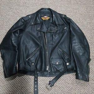 Harley Davidson leather jacket!